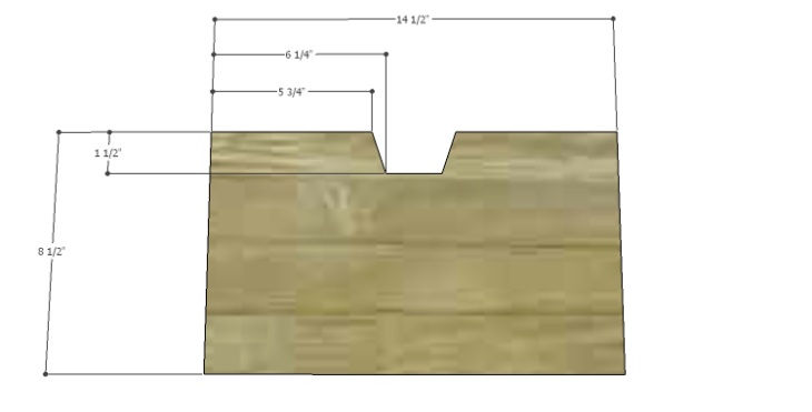Plans to Build a Drake Chest_Middle End Drawer Fronts