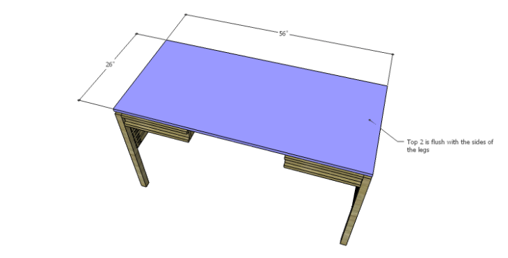 DIY Plans to Build a Mesa Desk-Top 2