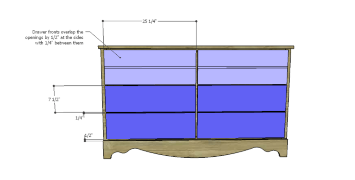 DIY Plans to Build a Spring Rose Dresser-Drawer Fronts 2