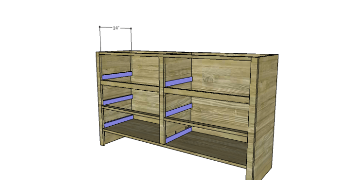 DIY Plans to Build a Spring Rose Dresser-Drawer Spacers