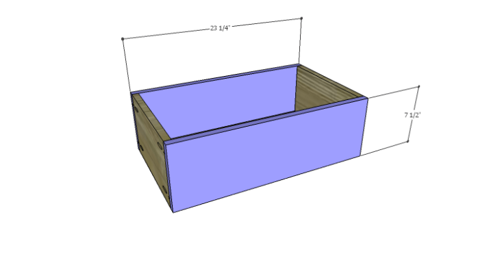 DIY Plans to Build a Spring Rose Dresser-Lg Drawer FB