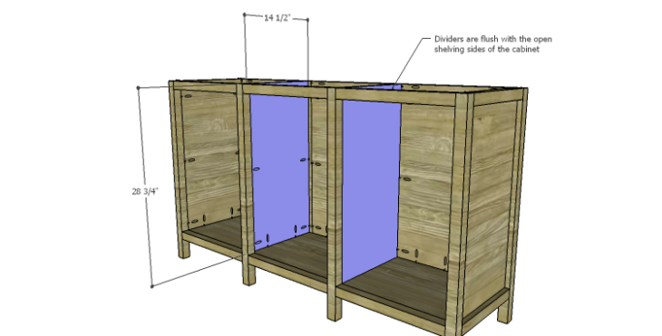 DIY Plans to Build an Alexander Sideboard_Dividers