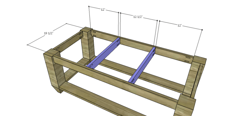 DIY Plans to Build a Messner Coffee Table-Top Supports