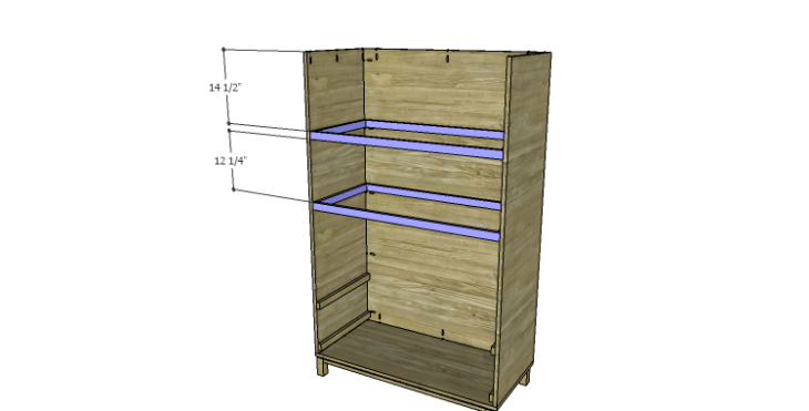 DIY Plans to Build a Starling Armoire_Upper Shelf Frames 2