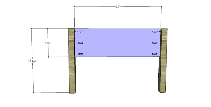DIY Plans to Build a Morgan Coffee Table_Side