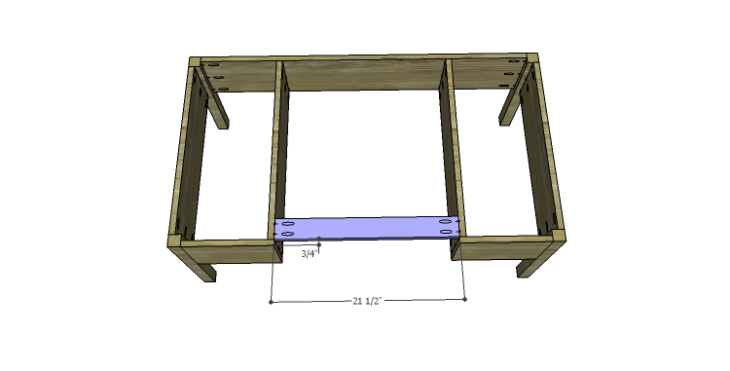DIY Plans to Build a Morgan Coffee Table_Stretcher