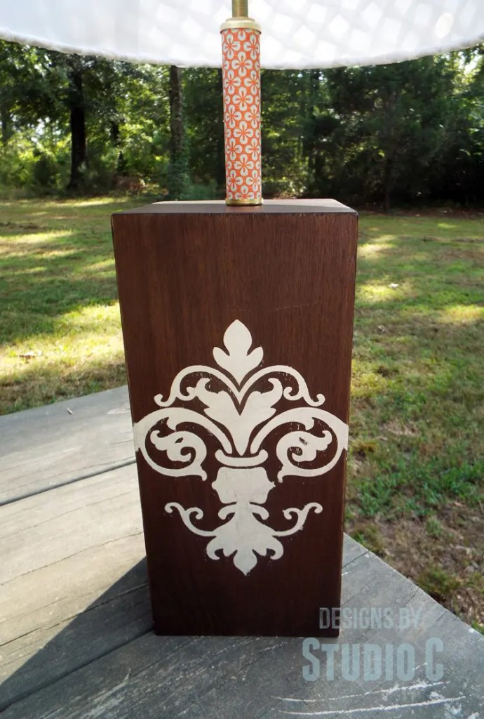 DIY Plans to Build a Lamp Base with Plywood_Stencil