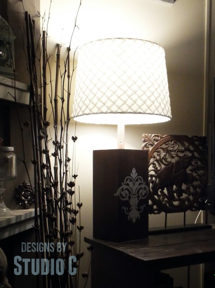 DIY Plans to Build a Lamp Base with Plywood_Night Left