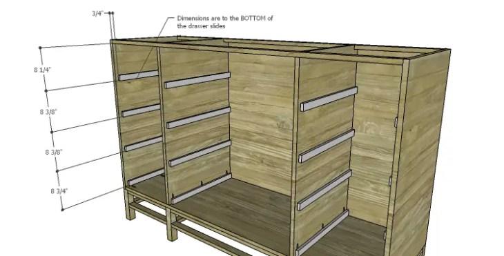 DIY Plans to Build a Serenity Dresser_Drawer Slides
