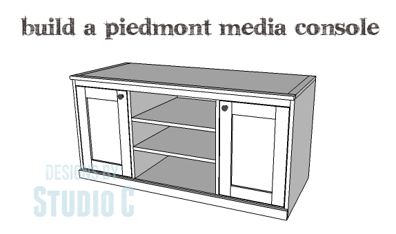 DIY Plans to Build a Piedmont Media Console_Copy