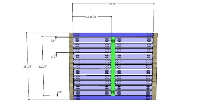 DIY Plans to Build a Slat-Door Sideboard_Doors
