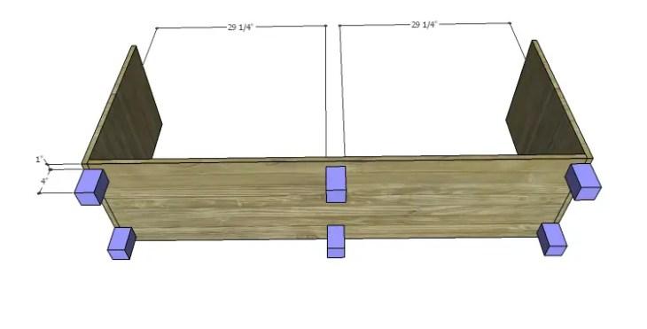 DIY Plans to Build a Slat-Door Sideboard_Feet