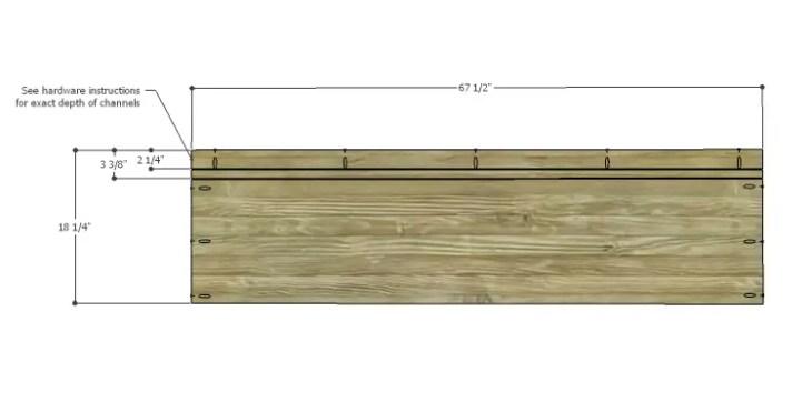 DIY Plans to Build a Slat-Door Sideboard_Top 1