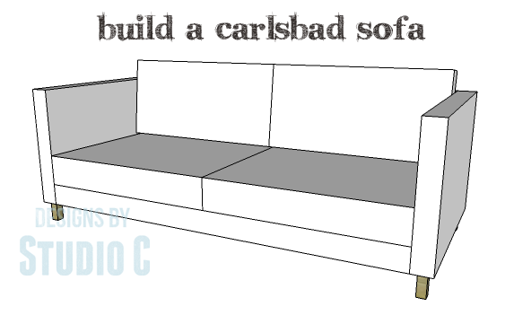 Superieur DIY Plans To Build A Carlsbad Sofa_Copy