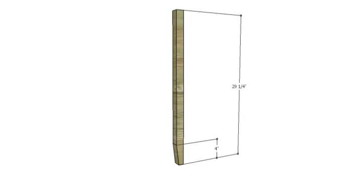 DIY Plans to Build a Magnolia Vanity Table_Legs