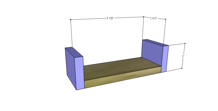 DIY Plans to Build a Magnolia Vanity Table_Smaller Drawer BS