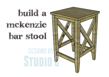 DIY Plans to Build a McKenzie Bar Stool_Copy  sc 1 st  Designs by Studio C & A Bar Stool Plan Suitable for All Skill Levels u2013 Designs by Studio C islam-shia.org