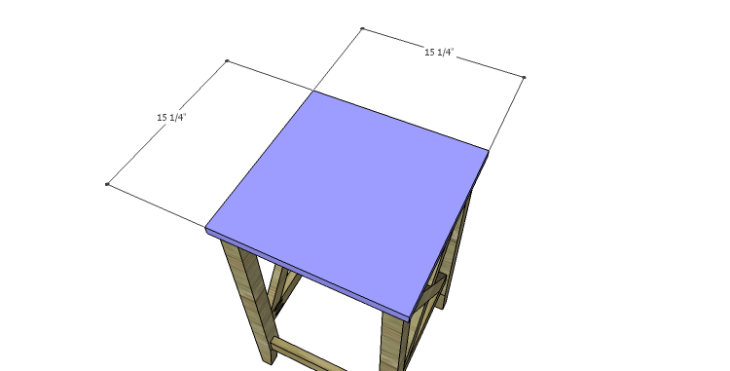 DIY Plans to Build a McKenzie Bar Stool_Seat