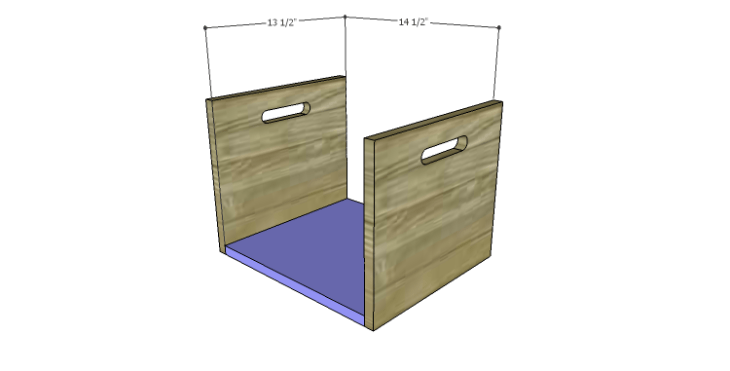 DIY Plans to Build a Laura Storage Bench_Crate Bottom