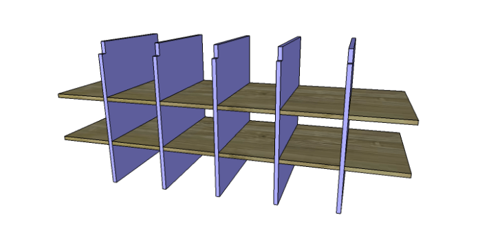 DIY Plans to Build a Maxwell Shoe Storage Bench_Cubbies 2