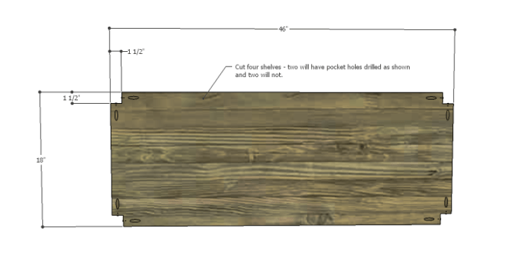 DIY Plans to Build a River Crest Media Chest_Shelf