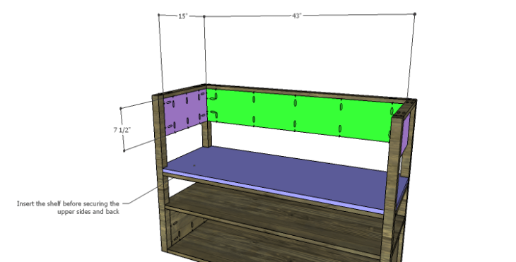 DIY Plans to Build a River Crest Media Chest_Upper Sides