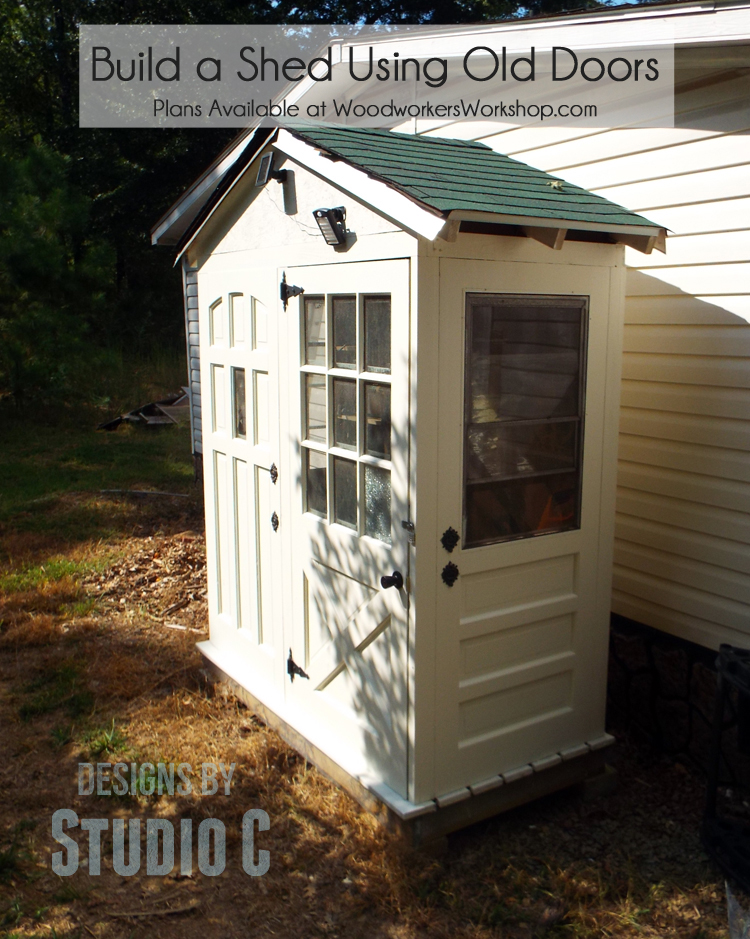 A Really Cool Shed with a Twist… – Designs by Studio C