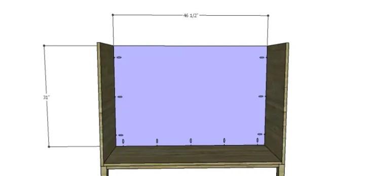 DIY Plans to Build a Mismatched Dresser_Back
