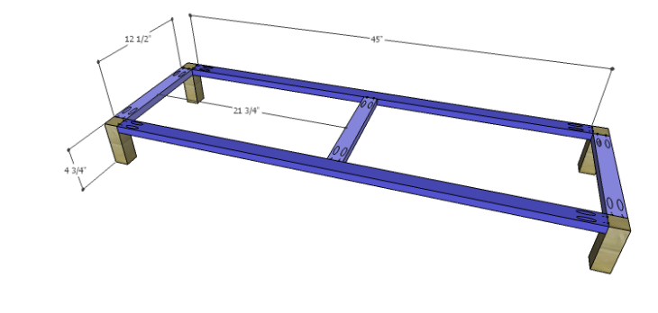 DIY Plans to Build a Mismatched Dresser_Base 1