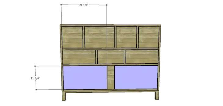 DIY Plans to Build a Mismatched Dresser_Doors