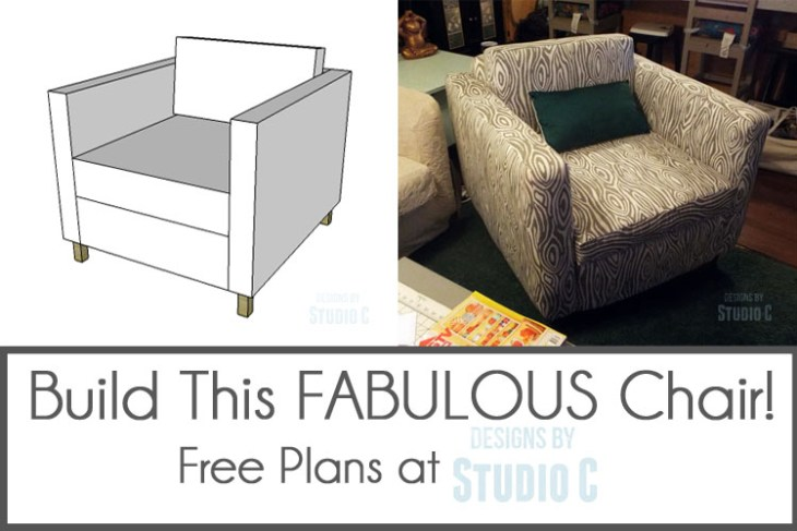 Build and Upholster the Carlsbad Chair Graphic