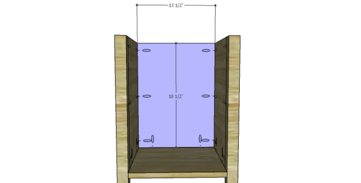 DIY Plans to Build a Valerie Nightstand_Back