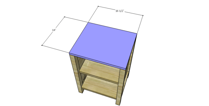 DIY Plans to Build a Valerie Nightstand_Top