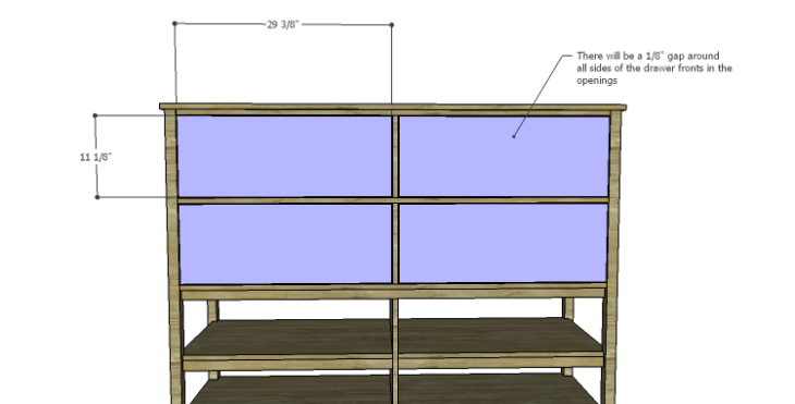 DIY Plans to Build a Forester Sideboard_Drawer Fronts