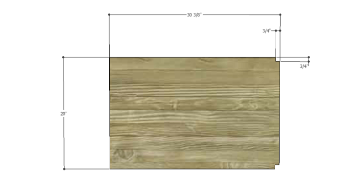 DIY Plans to Build a Forester Sideboard_Middle Shelves 1