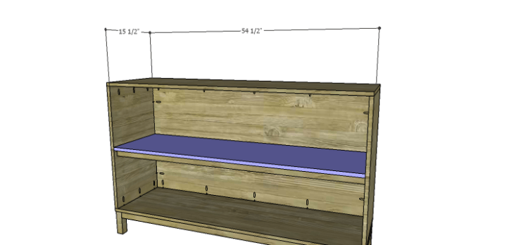 DIY Plans to Build a Cato Sideboard_Shelf