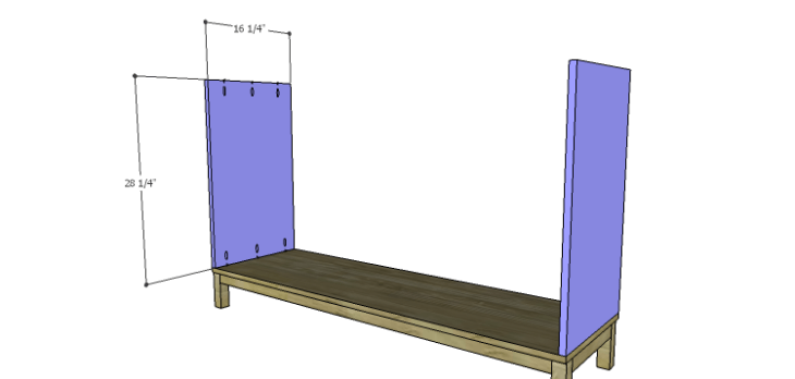 DIY Plans to Build a Cato Sideboard_Sides