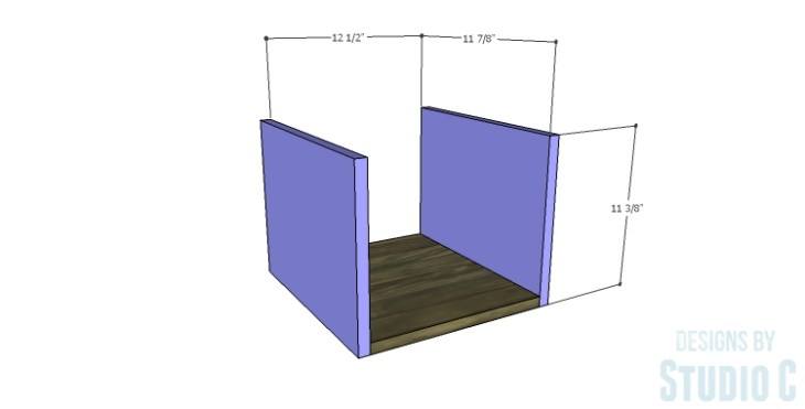 DIY Plans to Build a Reclaimed Bookcase Divider_Drawer BS