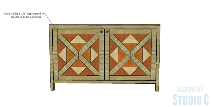 DIY Plans to Build a Mosaic Cabinet_Doors 4
