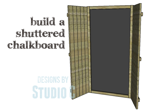 DIY Plans to Build a Shuttered Chalkboard_Copy