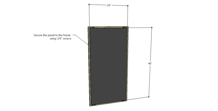 DIY Plans to Build a Shuttered Chalkboard_Panel