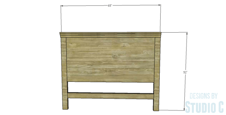 DIY Plans to Build a Monica Headboard