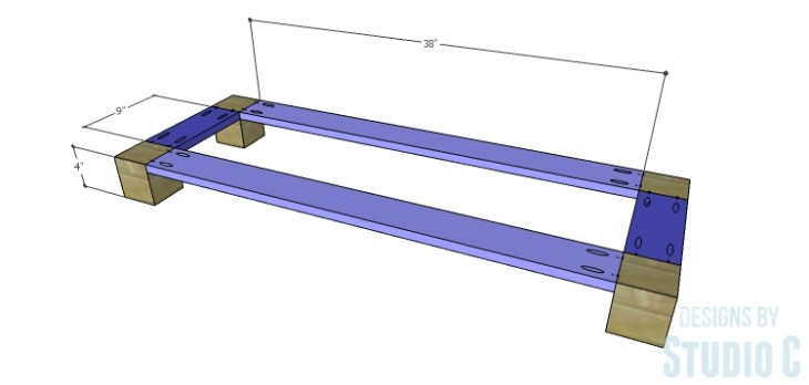 DIY Plans to Build a Brenley Media Console_Base 1