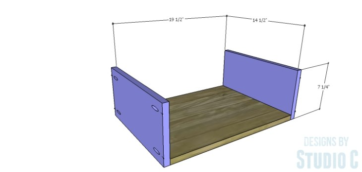 DIY Plans to Build a Brenley Media Console_Drawer BS