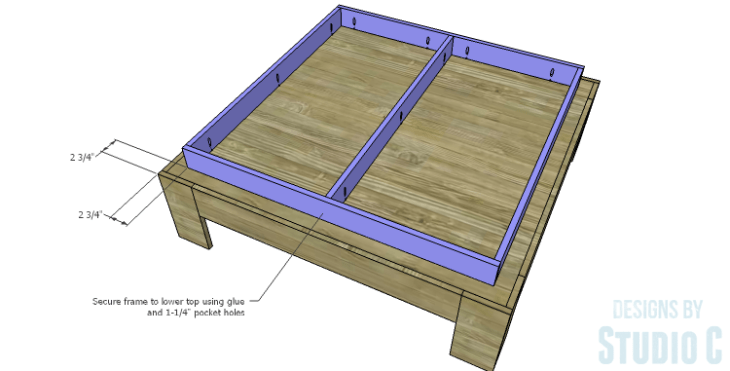 DIY Plans to Build a Mercer Coffee Table_Top Frame 2