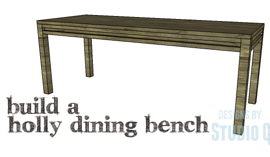 DIY Plans To Build A Holly Dining Bench_Copy