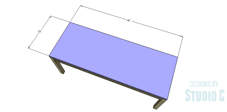 DIY Plans to Build a Holly Dining Bench_Seat