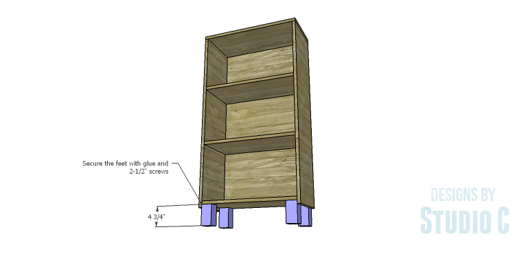 DIY Plans To Build A Kase Bookshelf Legs