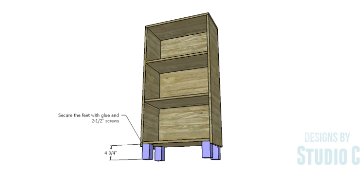 DIY Plans to Build a Kase Bookshelf_Legs