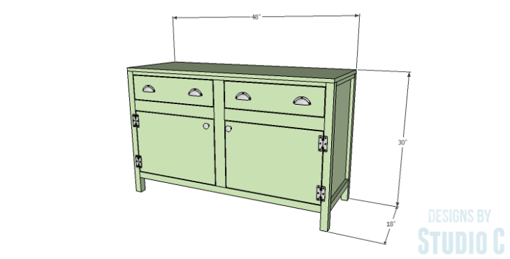 DIY Plans to Build a Trinity Cabinet